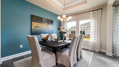 Teal Dining Room thumbnail