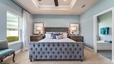 Tufted Master Bedroom thumbnail