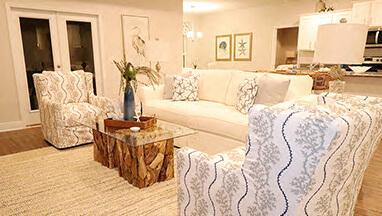 Thumbnail image of Open Floor Plan Cream Living Room
